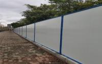 彩钢夹芯板围墙(钢立柱型),批发价
